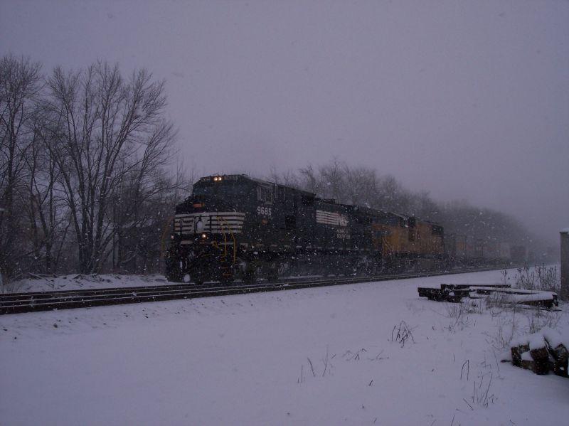 Dash 9ing through the snow